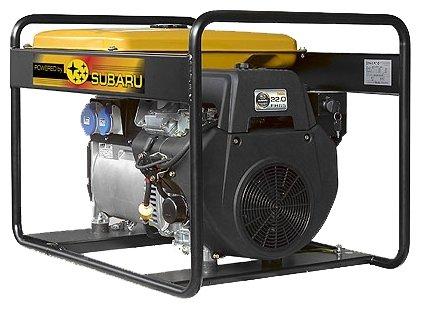 бензиновая электростанция robin‑subaru eb14.0/230-sle