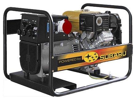 бензиновая электростанция robin‑subaru eb6.5/400-w220re