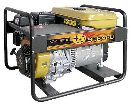 бензиновая электростанция robin‑subaru eb7.0/400-sle