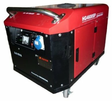 бензиновая электростанция russian engineering group hg4600 soundproof
