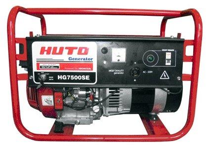 бензиновая электростанция russian engineering group hg7500