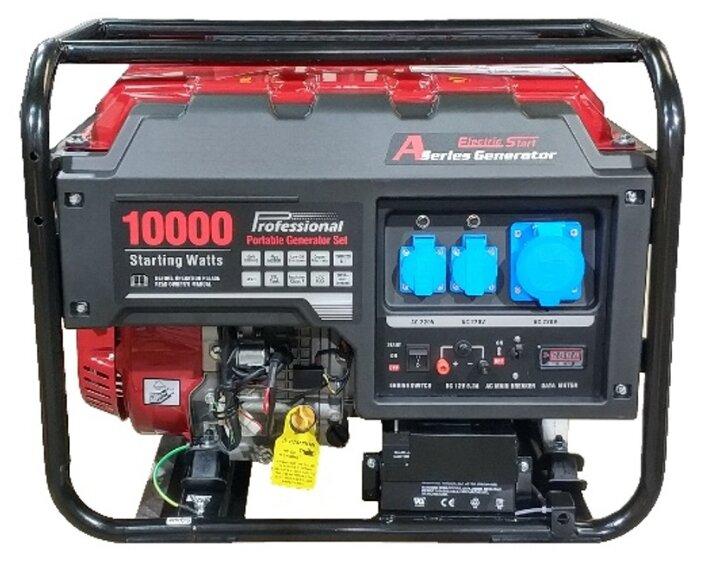 бензиновая электростанция russian engineering group lc10000