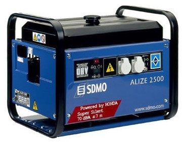 бензиновая электростанция sdmo alize 2500