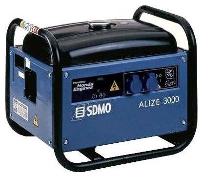бензиновая электростанция sdmo alize 3000