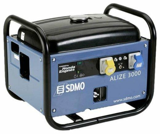 бензиновая электростанция sdmo alize 3000 uk