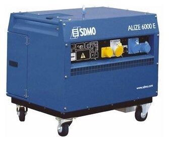 бензиновая электростанция sdmo alize 6000 e uk