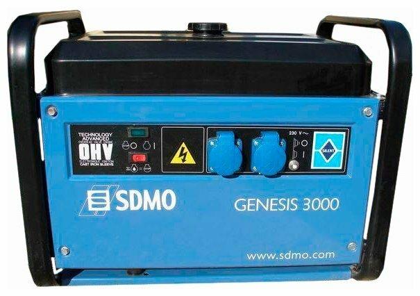 бензиновая электростанция sdmo genesis 3000