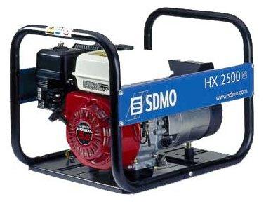 бензиновая электростанция sdmo hx2500
