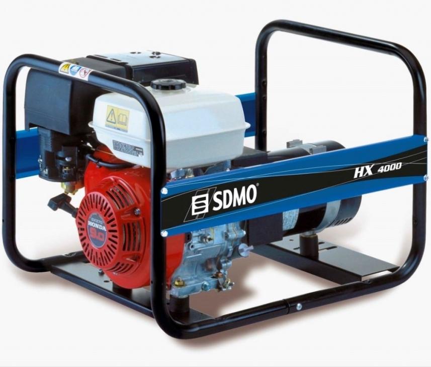 бензиновая электростанция sdmo hx 4000