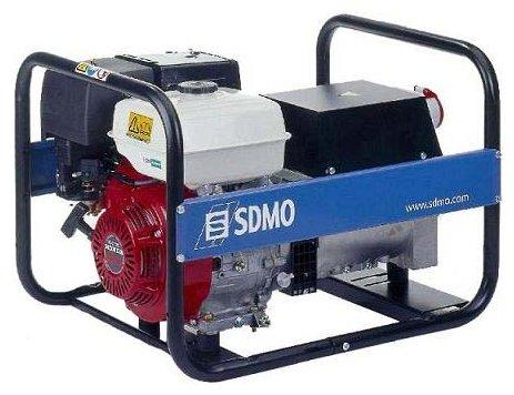 бензиновая электростанция sdmo hx5000t c