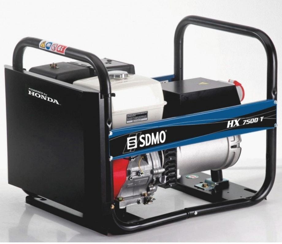 бензиновая электростанция sdmo hx 7500 t