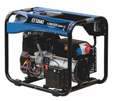бензиновая электростанция sdmo limited edition 8000 te xl c