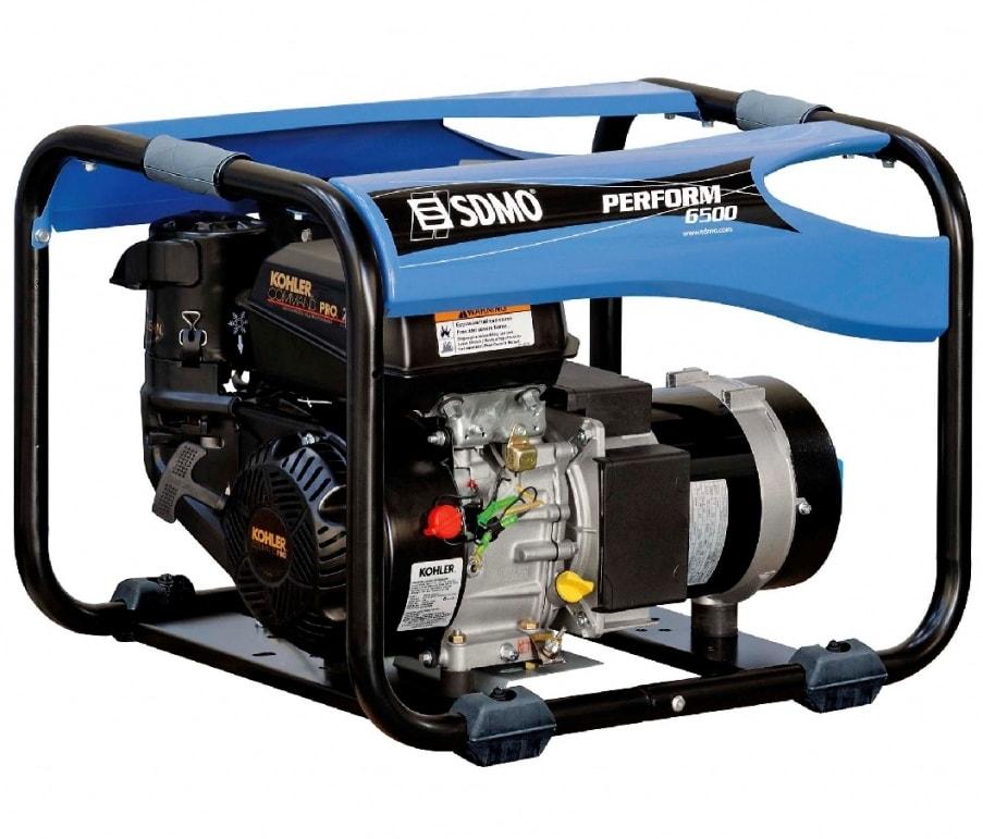 бензиновая электростанция sdmo perform 6500