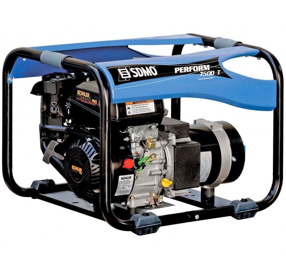 бензиновая электростанция sdmo perform 7500 t