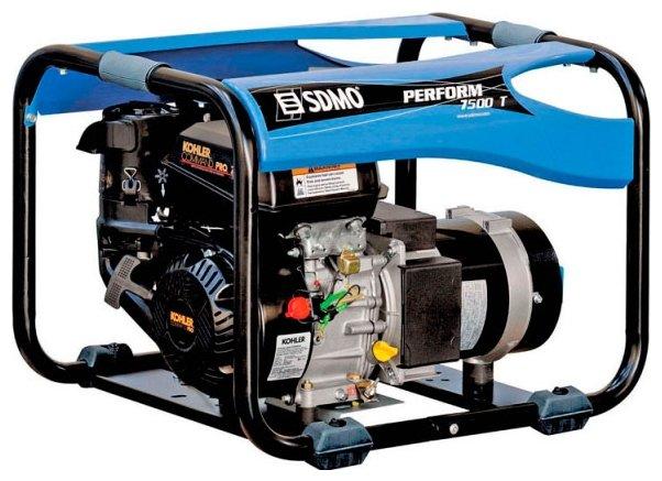бензиновая электростанция sdmo perform 7500 t c