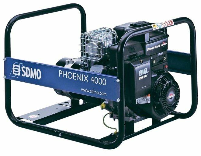 бензиновая электростанция sdmo phoenix 4200