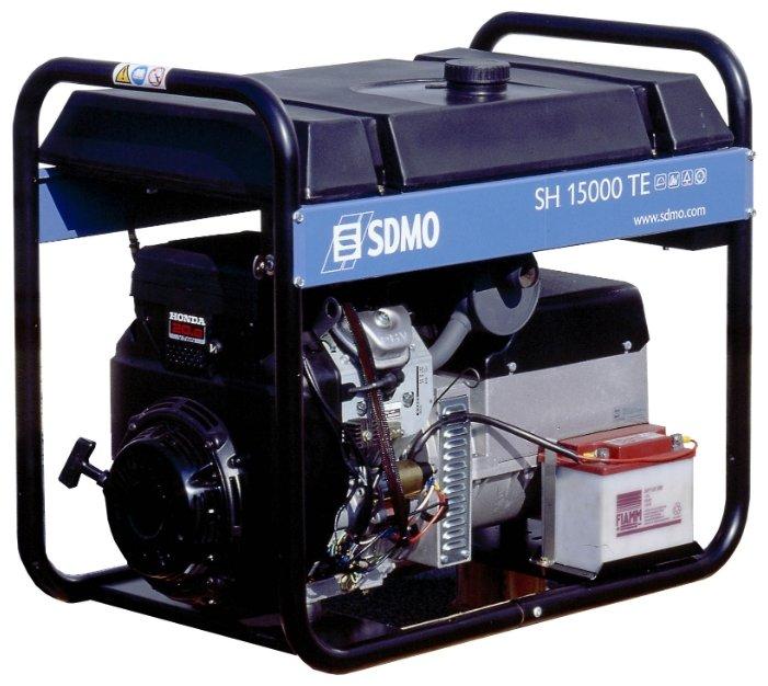 бензиновая электростанция sdmo sh15000te