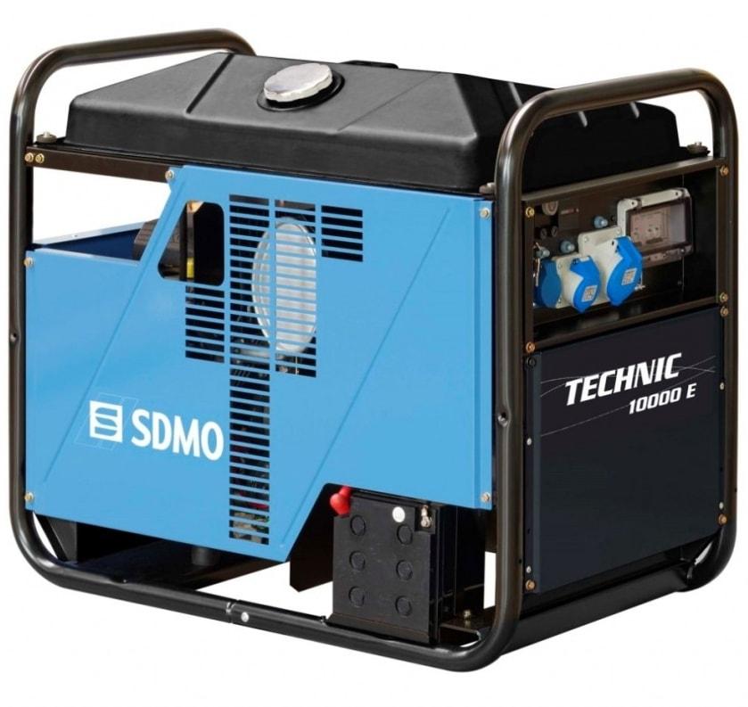 бензиновая электростанция sdmo technic 10000 e