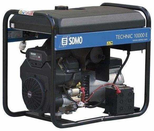 бензиновая электростанция sdmo technic 10000e auto