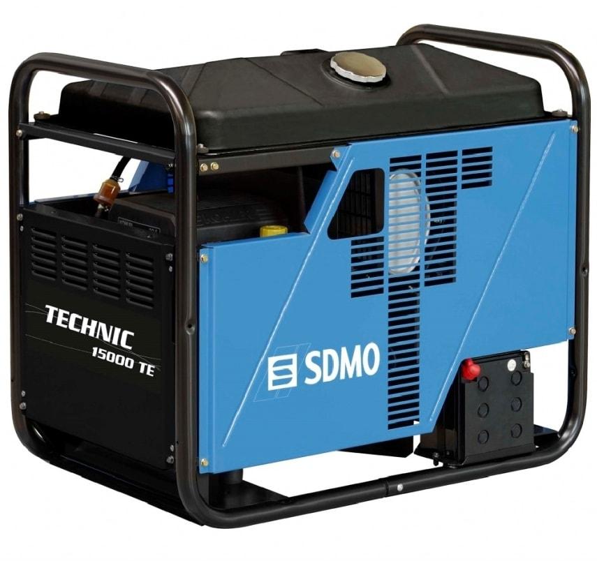 бензиновая электростанция sdmo technic 15000 te