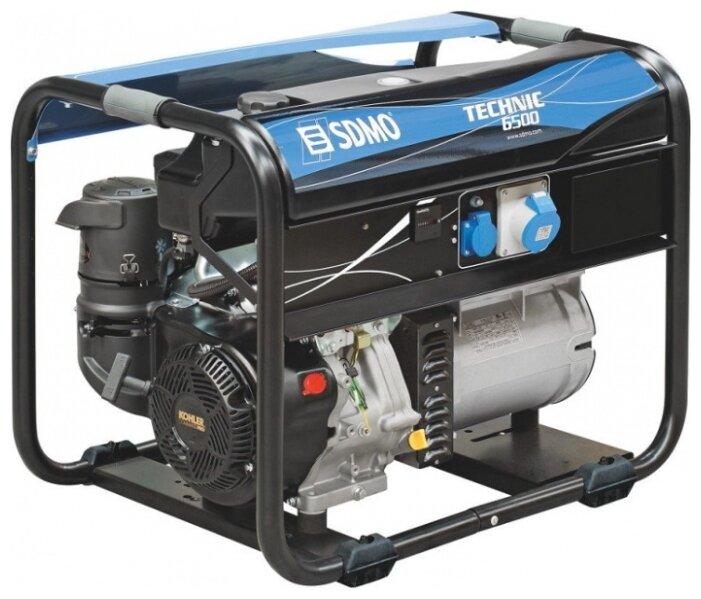 бензиновая электростанция sdmo technic 6500 c