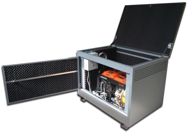 бензиновая электростанция sdmo technic 7500 te