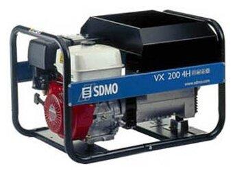 бензиновая электростанция sdmo vx200/4h s