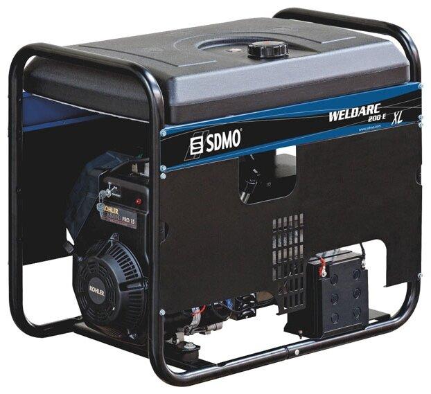 бензиновая электростанция sdmo weldarc 220te xl с