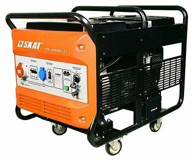 бензиновая электростанция skat угб-10000e