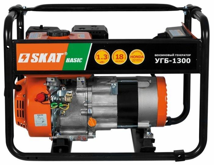 бензиновая электростанция skat угб-1300 basic