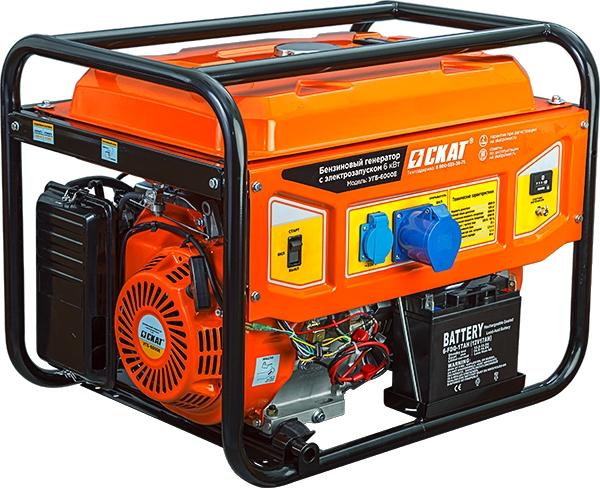 бензиновая электростанция skat угб-2500 basic