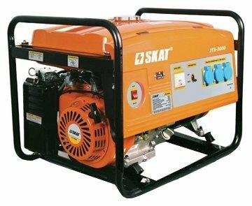 бензиновая электростанция skat угб-3000