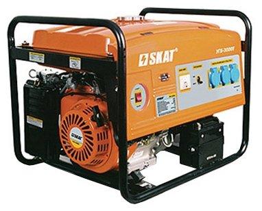 бензиновая электростанция skat угб-3000е
