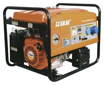 бензиновая электростанция skat угб-6000е/ats