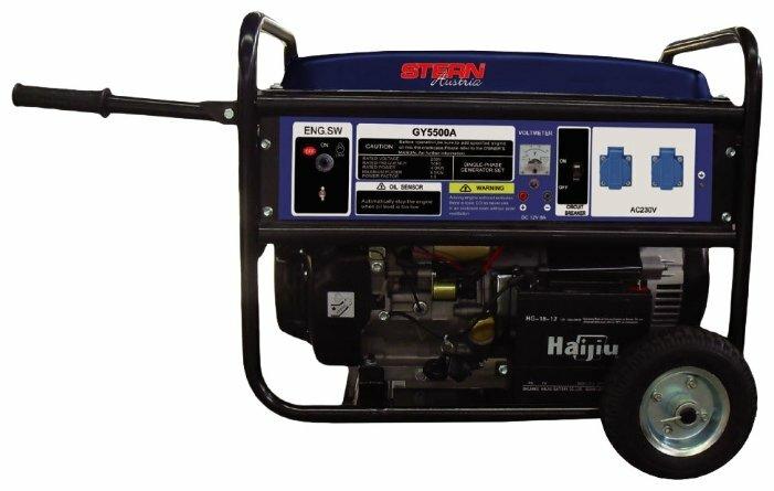 бензиновая электростанция stern austria gy5500а