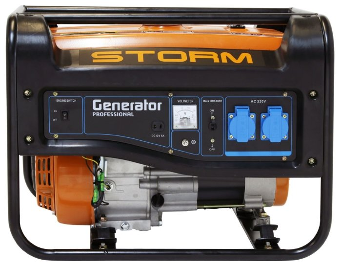 бензиновая электростанция storm dacha 3.2 h