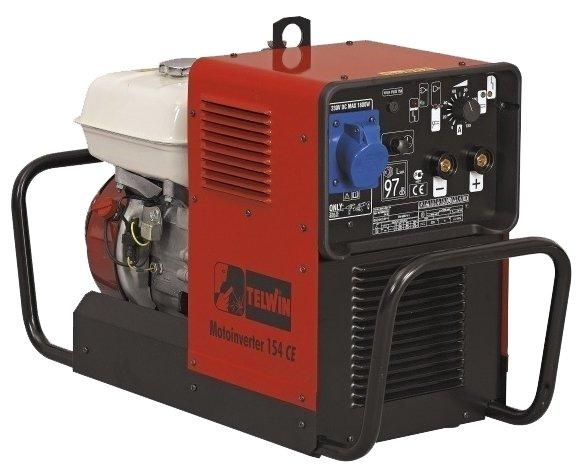бензиновая электростанция telwin motoinverter 154 ce