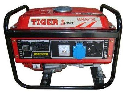 бензиновая электростанция tiger ec1300a