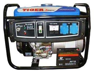 бензиновая электростанция tiger tg3700e