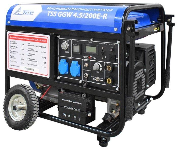 бензиновая электростанция tss ggw 4.5/200e-r