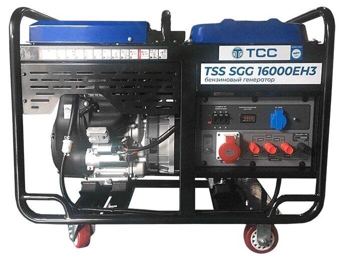 бензиновая электростанция tss sgg 16000eh3