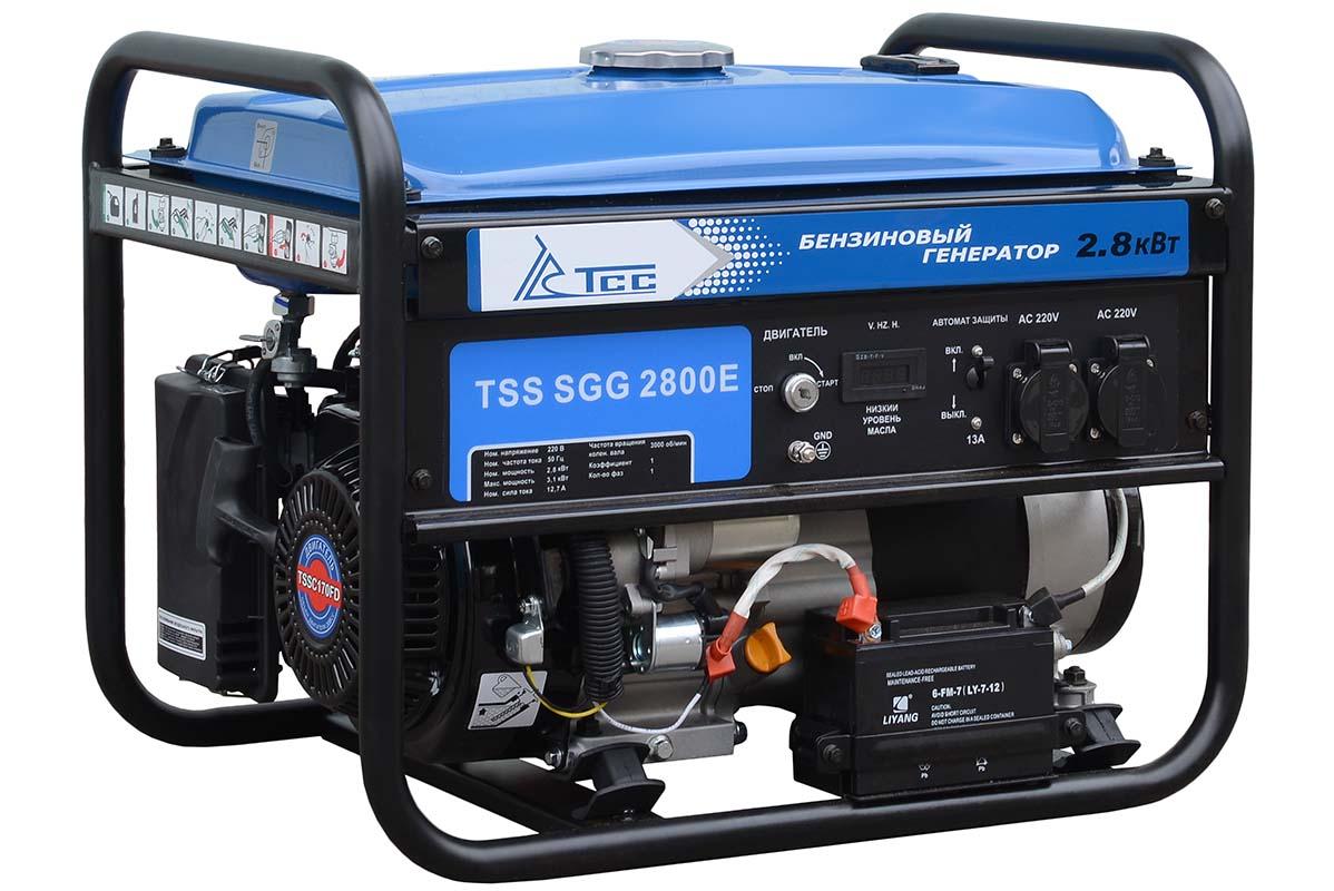 бензиновая электростанция tss sgg 2800e