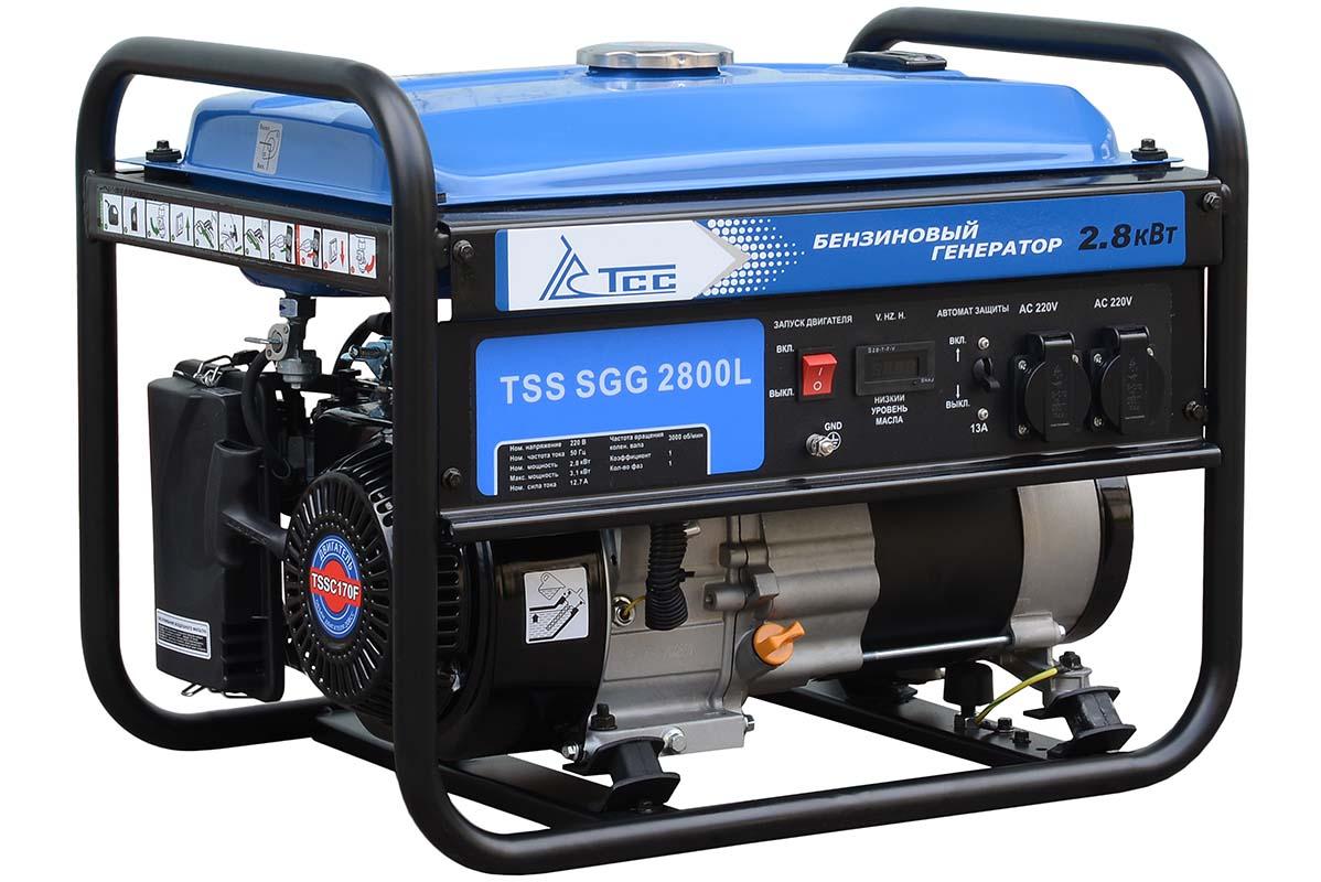 бензиновая электростанция tss sgg 2800l