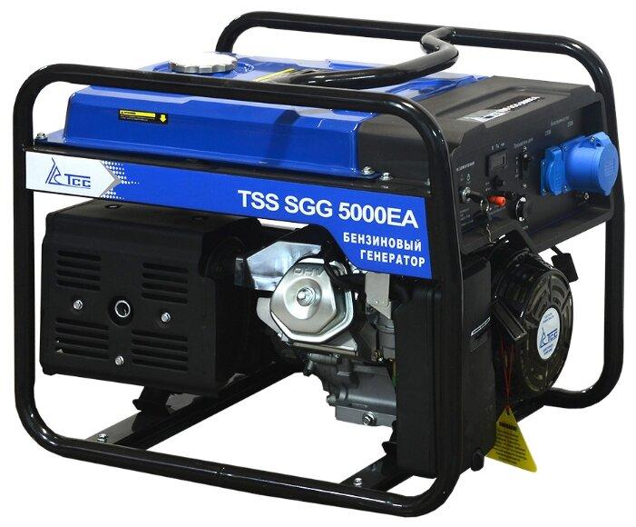 бензиновая электростанция tss sgg-5000 ea