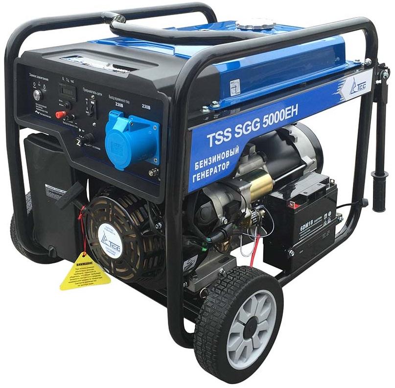 бензиновая электростанция tss sgg 5000 eh