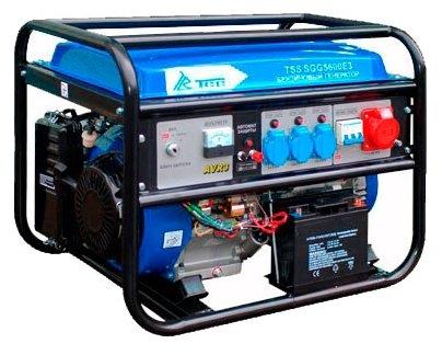 бензиновая электростанция tss sgg-5600 e3