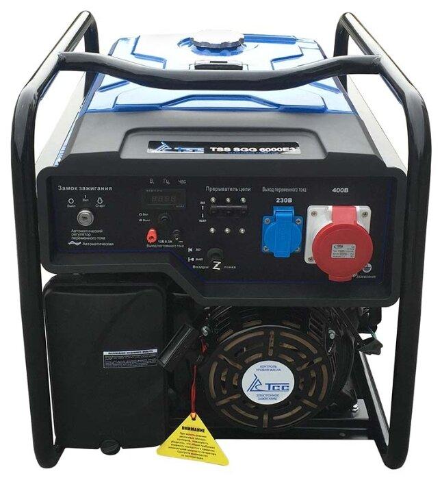 бензиновая электростанция tss sgg-6000 e3