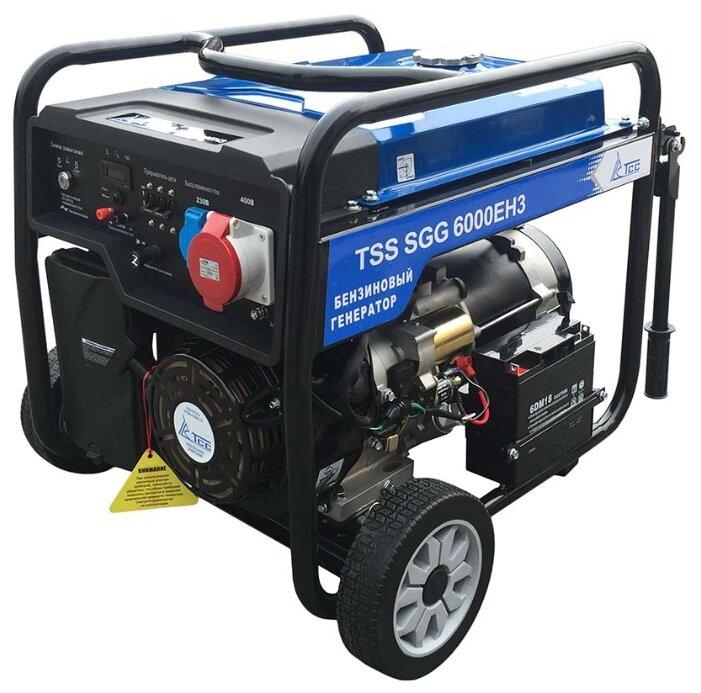 бензиновая электростанция tss sgg-6000 eh3