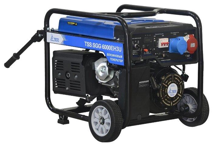 бензиновая электростанция tss sgg-6000 eh3u