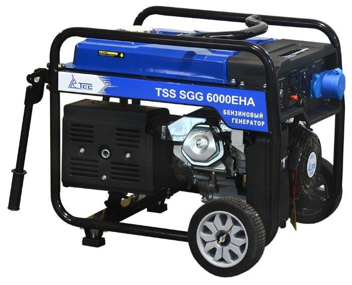 бензиновая электростанция tss sgg-6000 eha